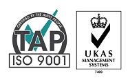 UKAS & 9001 Logo - Jpg